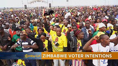 Les Zimbabwéens aux urnes pour élire leur président [The Morning Call]