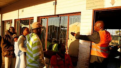 Zimbabweans vote in first election after Mugabe ouster