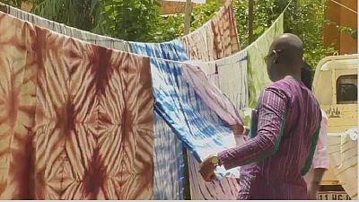 Burkinabe fashion designer revives traditional Koko Dunda fabric