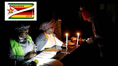 Counting underway after Zimbabwe polls, turnout at over 70%