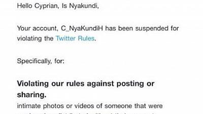 Kenyans on Twitter protest suspension of influential blogger, Nyankundi