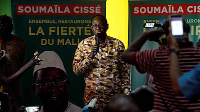 Mali opposition says poll set for run-off, incumbent president claims lead