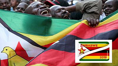 Excitement in Zimbabwe as Mnangagwa is declared president