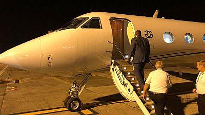 Bemba s'est déjà envolé pour Kinshasa, arrivée prévue à 8h GMT