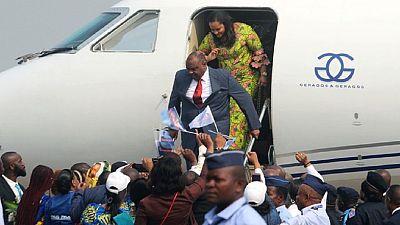 RDC : «Je suis très content d'être ici», Jean-Pierre Bemba