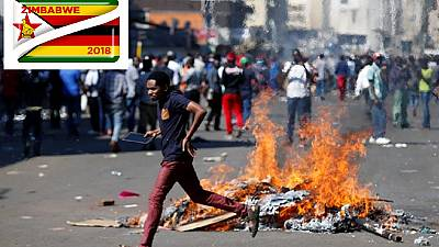 Zimbabwe: At least one person is shot dead as army clashes with opposition supporters