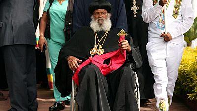 [Photos] Éthiopie : le chef de l'Église orthodoxe rentre d'exil