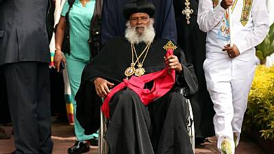 Photos: Colours and cheers as exiled Ethiopian Orthodox Patriarch returns