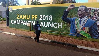 Zimbabwe: Mnangagwa élu président de la République dès le premier tour