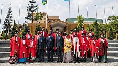 Rwanda : Kagame enseigne l'indépendance de la justice aux magistrats