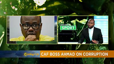 CAF boss says he is making progress in fight against corruption [Sport]