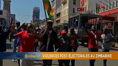 Retour sur les violences post-électorales au Zimbabwe [The Morning Call]