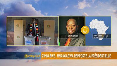 Emmerson Mnangagwa declared winner of Zimbabwe's 'disputed' election