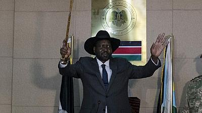 President Kiir, all opposition leaders sign governance agreement