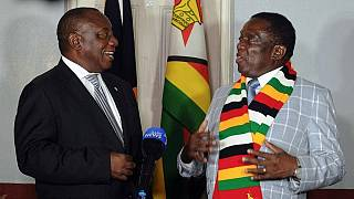 Ramaphosa appeals to Zimbabweans to accept election results