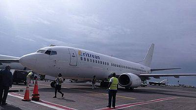 Premier vol d'Eritrean Airlines vers l'Éthiopie