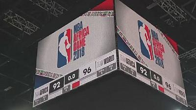 NBA Africa games in Pretoria