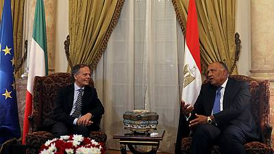 Italian FM hails 'excellent cooperation' of Egypt over probe into student's murder