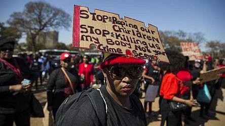 Women in Pretoria organize march against gender-based violence [No Comment]