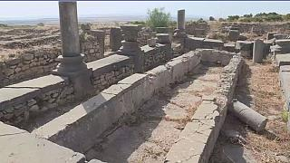 Maroc : la cité antique de Volubilis veut protéger ses trésors