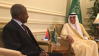 Eritrean delegation in Saudi Arabia to deepen bilateral relations