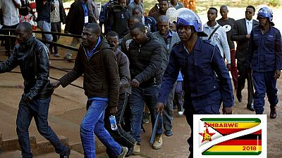 Zimbabwe opposition members accused of post-poll violence get bail