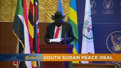 Accord de paix au soudan du sud [The Morning Call]