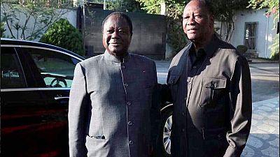Après ses mesures, Alassane Ouattara rencontre Bédié