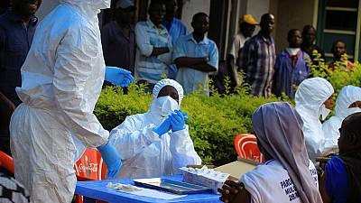 DRC Ebola crisis: Health workers vaccinated