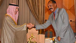 Photos: Saudi Foreign Minister meets Eritrean president in Asmara