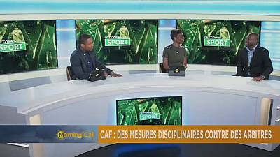 CAF takes disciplinary action against referees [Sport]