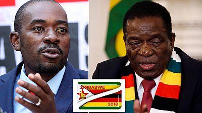 """Zimbabwe : l'investiture de Mnangagwa """"suspendue"""" après le recours de l'opposition"""