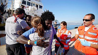 Après un sauvetage en Méditerrannée, un migrant soudanais aspire à une vie meilleure
