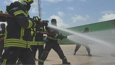Mogadishu firefighters are volunteers working pro bono