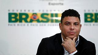 L'ancien international brésilien Ronaldo en soins intensifs pour une pneumonie