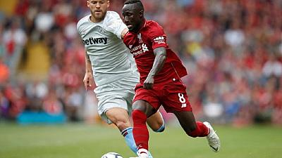 Guinea's Naby Keita impresses in Liverpool debut