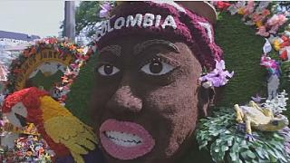 Colombia's famed annual flower festival