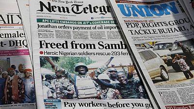 Nigeria : un journaliste détenu pour avoir refusé de divulguer ses sources