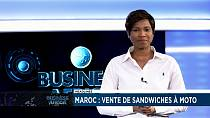 Moroccan woman vending food with motorcycle [Business Africa]