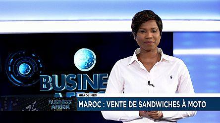 Maroc: une mère vend des sandwiches à moto