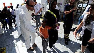 Charity ship carrying 141 migrants finally docks in Malta