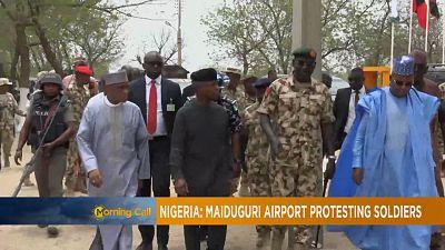 Nigeria: Soldiers' mutiny at Maiduguri Airport [The Morning Call]