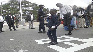 [Photos] Congo : un enfant sapeur sur les traces de Papa Wemba