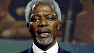 L'ancien secrétaire général de l'ONU Kofi Annan est mort à 80 ans (fondation)