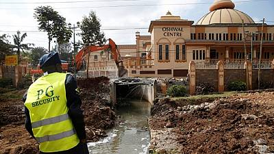 Demotions and clashes over Riparian land rage on in Kenyan capital