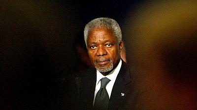 Réactions après la mort de Kofi Annan
