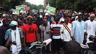 Mali : Marche des partisans de Soumaila Cissé contre la réélection du président Keïta