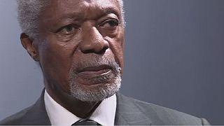 Des Ghanéens saluent ''fiers'' de Koffi Annan