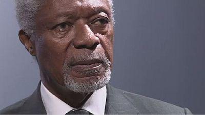 Ghanaians pay tribute to former UN Secretary- General, Kofi Annan