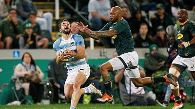Rugby Championship : l'Afrique du Sud remporte son premier match face à l'Argentine